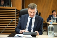 Mr. Andrus Ansip, the Vice President of the European Commission in charge of the Digital Single Market. © European Union , 2019 / Photo: Lukasz Kobus.